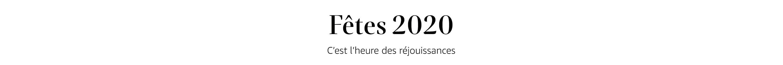 Vacances 2020