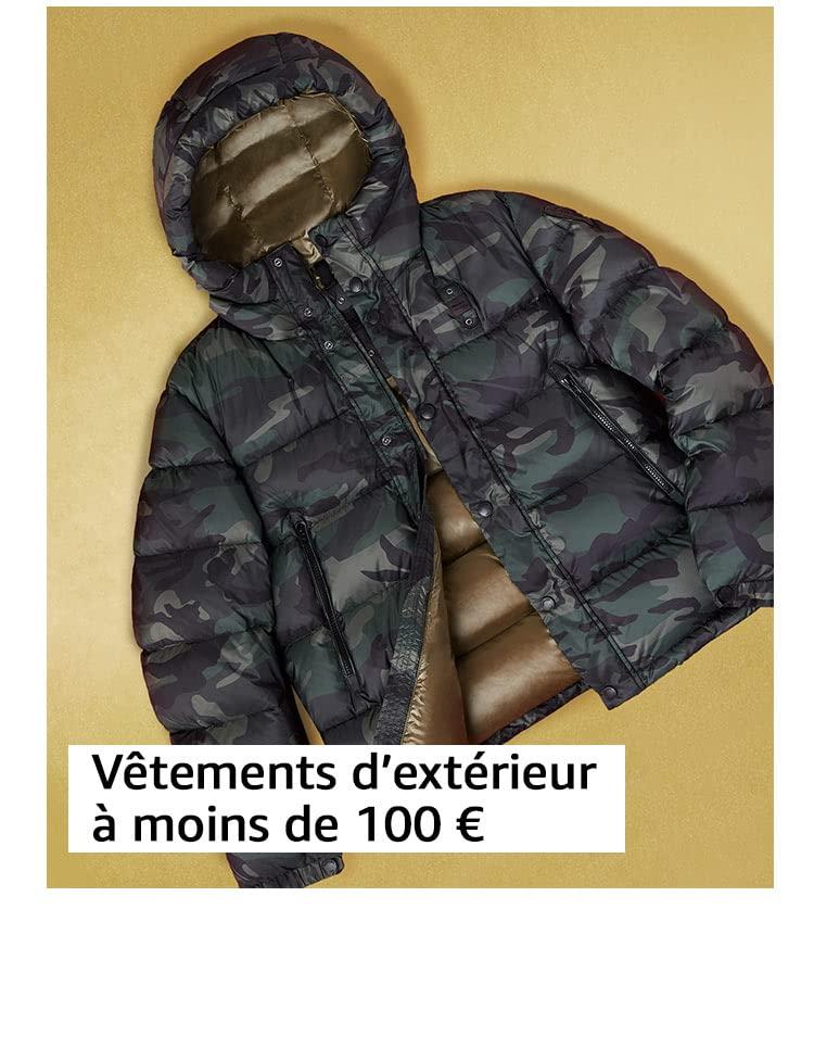 Vêtements d'extérieur à moins de 100 €