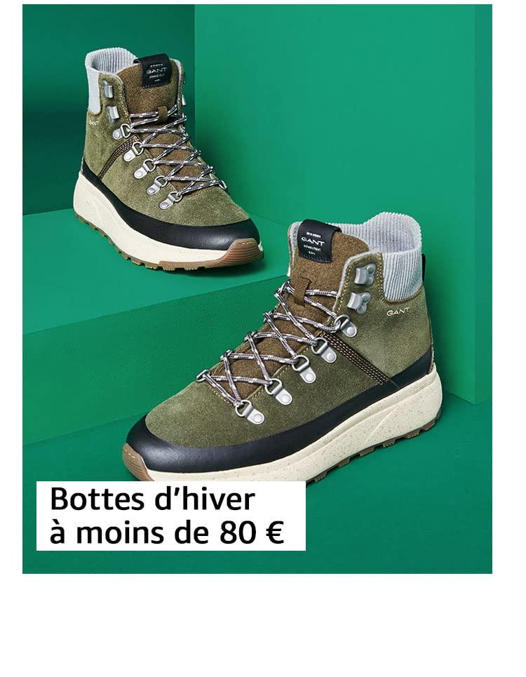 Bottes d'hiver à moins de 80 €