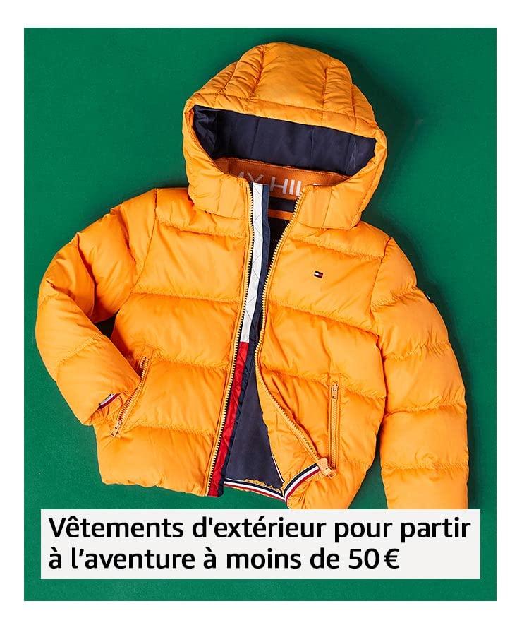 Vêtements d'extérieur pour partir à l'aventure à moins de 50€