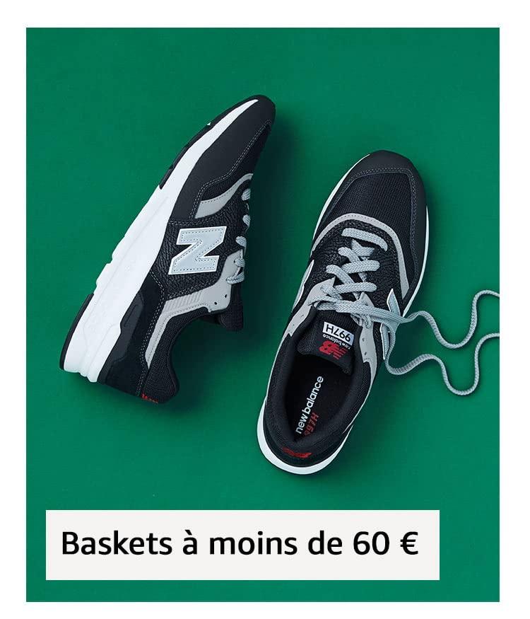 Baskets à moins de 60 €