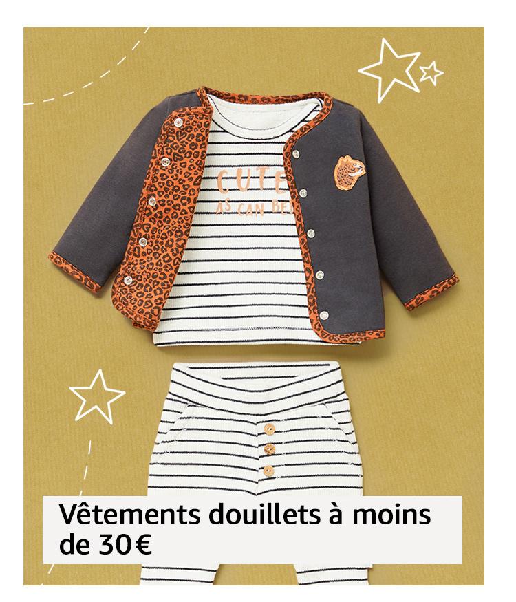 Vêtements douillets à moins de 30€