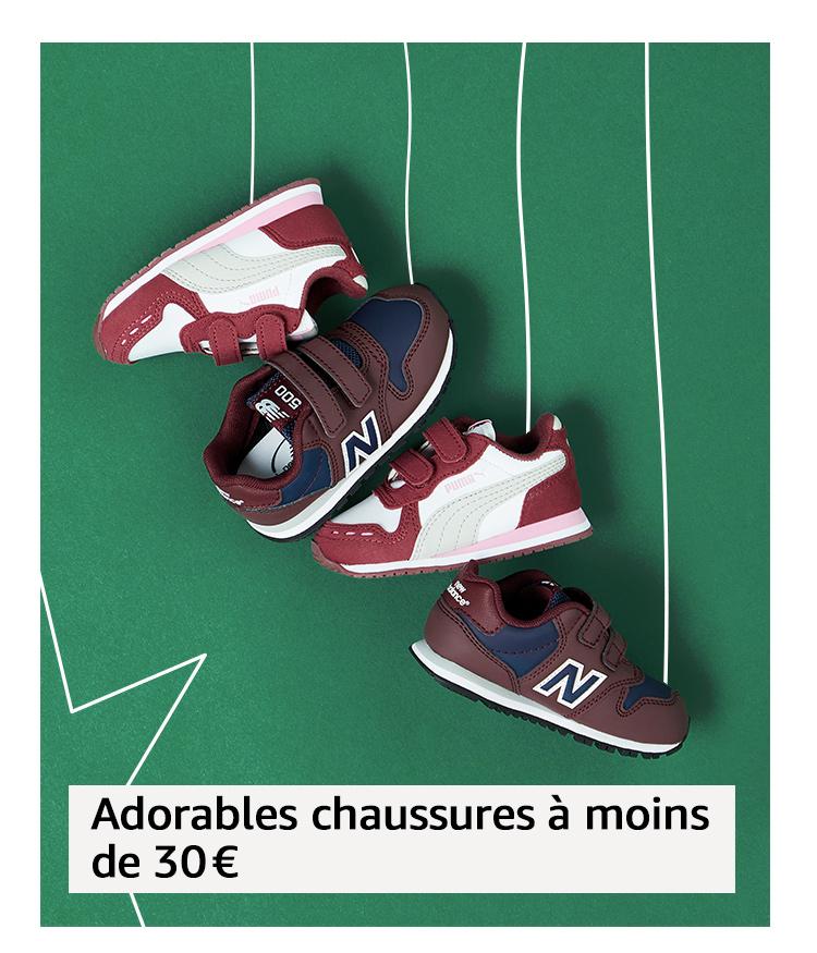 Adorables chaussures à moins de 30€