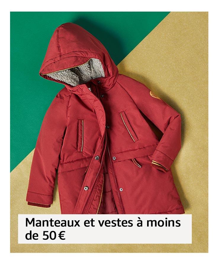 Manteaux et vestes à moins de 50 €