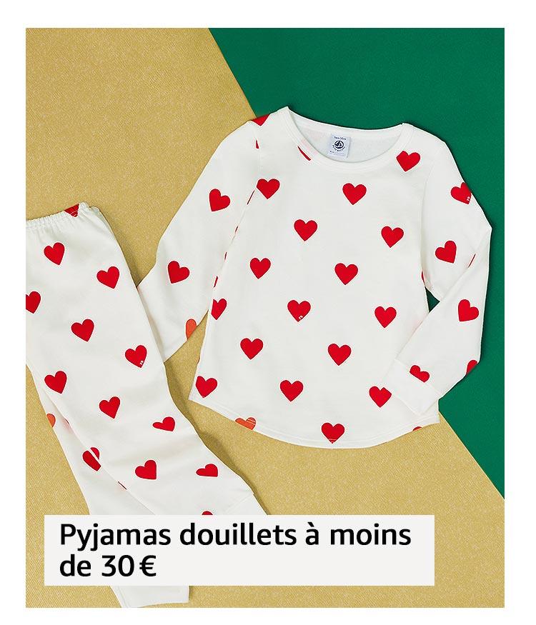 Pyjamas douillets à moins de 30 €