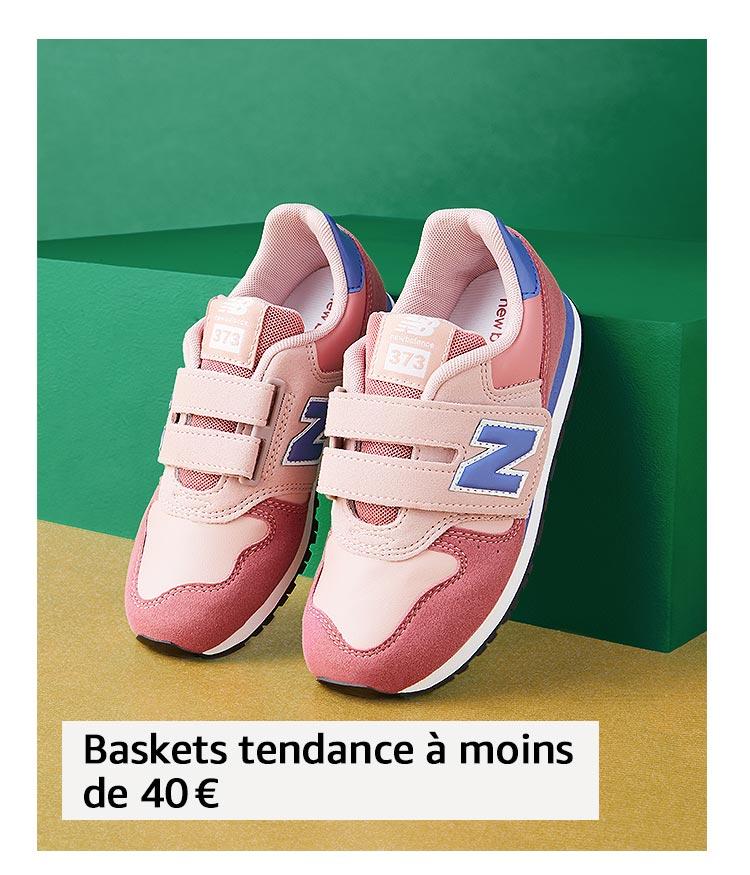 Baskets tendance à moins de 40 €