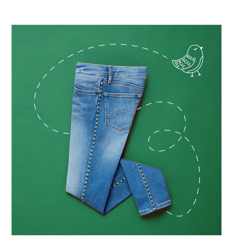 Sautez sur ces nouveaux jeans