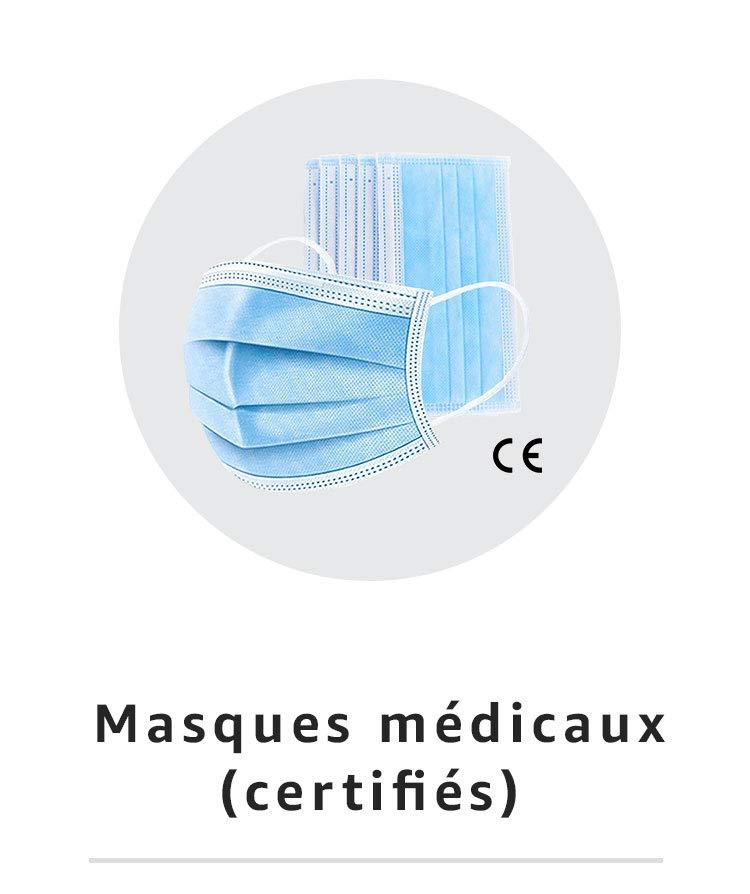 Masques médicaux certifiés