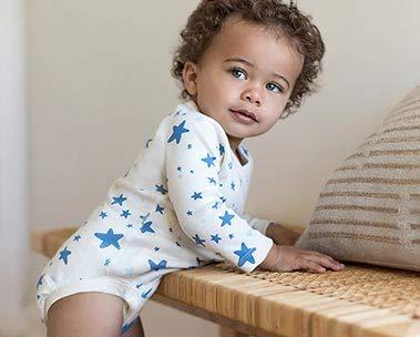 Vêtements organiques bébé de Moon and Back