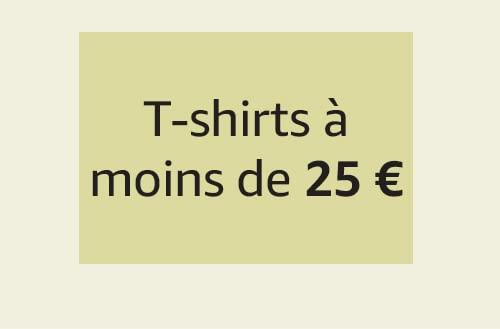 T-shirts à moins de 25 €