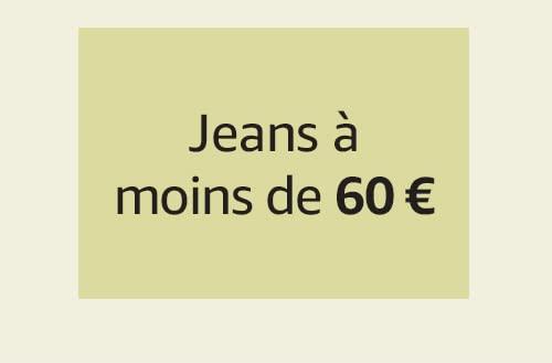 Jeans à moins de 60 €