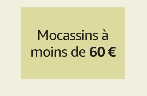 Mocassins à moins de 60 €
