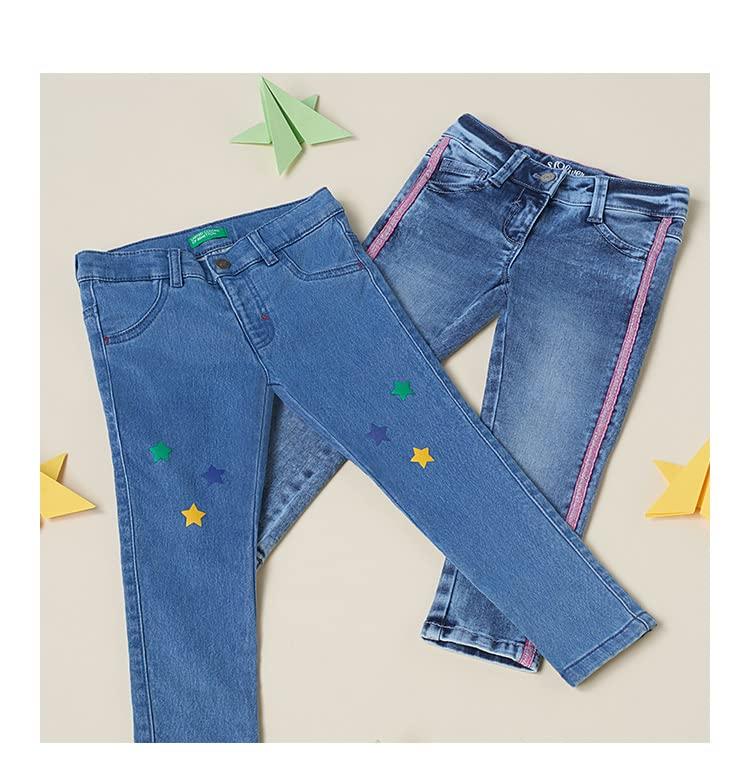 Des jeans faits pour jouer