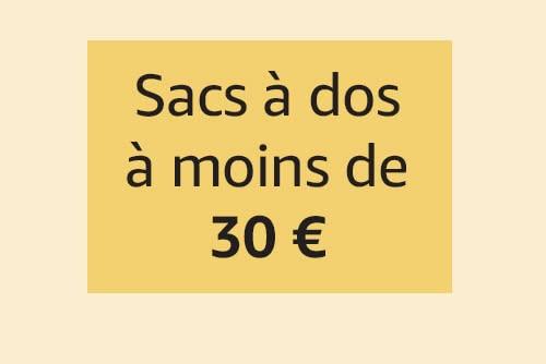 Sacs à dos à moins de 30€