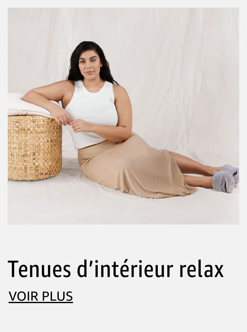 Tenues d'intérieur relax