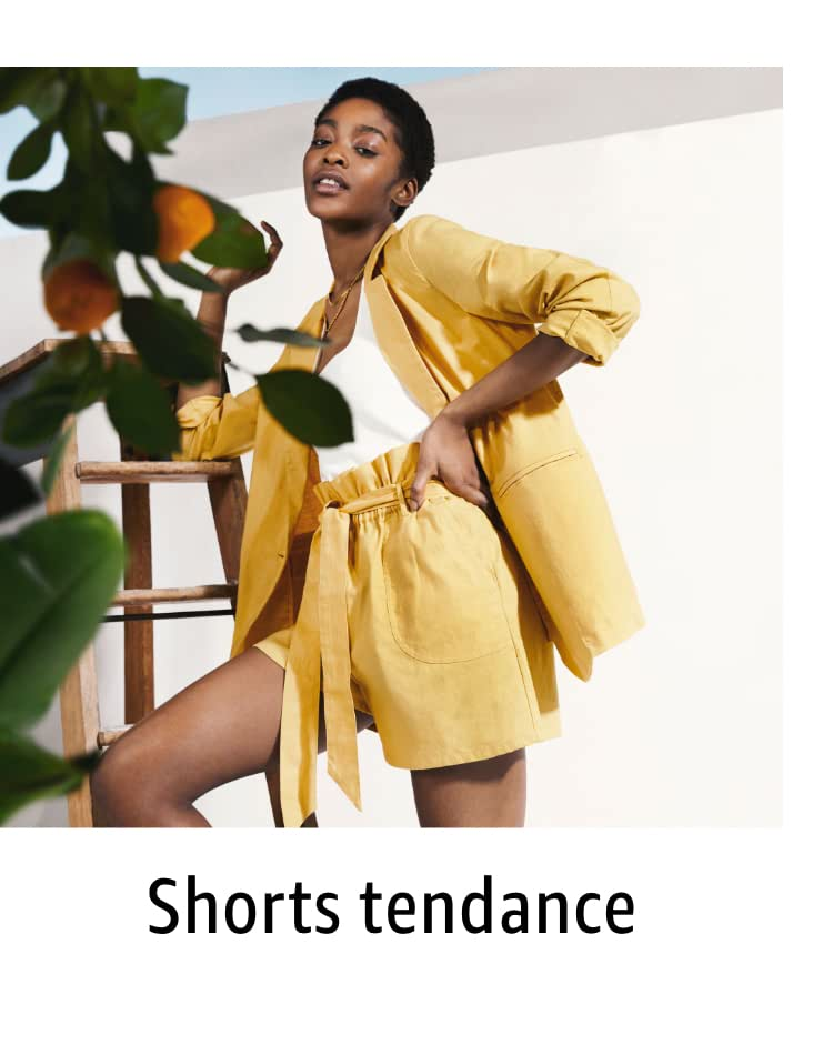 Shorts tendance