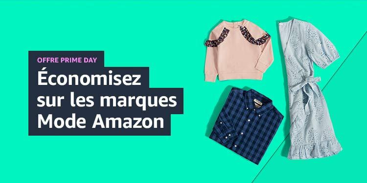 Économisez sur les marques Mode Amazon