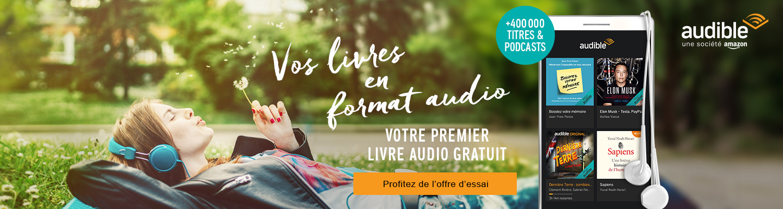 Offre d'essai, 1 livre audio gratuit au choix