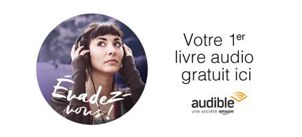 Offre d'essai Audible : 1 livre audio gratuit