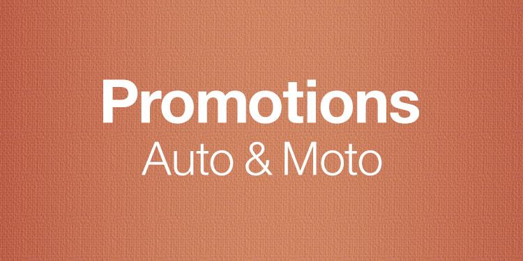 Promotions Auto & Moto