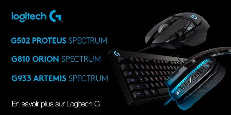 Accessoires Gaming Logitech