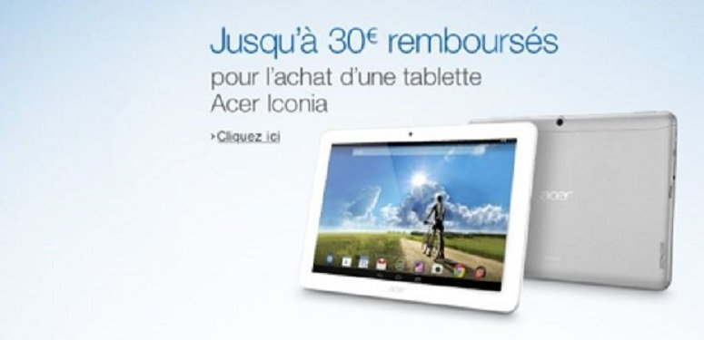 Offre Tablette