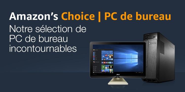 Amazon's Choice Notre sélection de PC de bureau incontournables