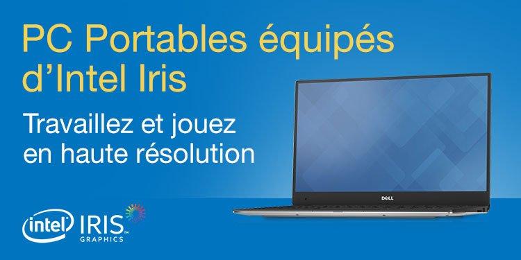 Intel Iris - Travaillez et jouez en haute résolution