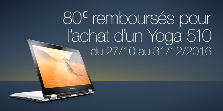 PC Hybride Lenovo Yoga 510