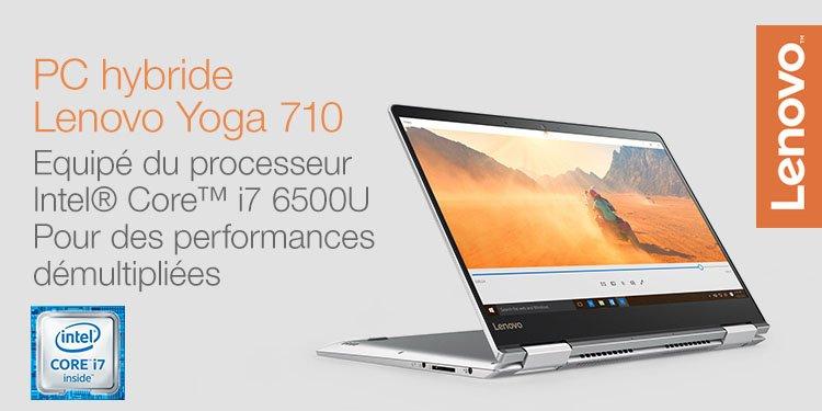 PC Hybride Lenovo Yoga 710