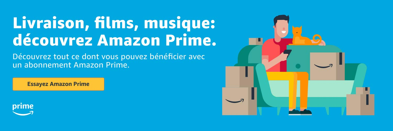 Livraison, films, musique : découvrez Amazon Prime