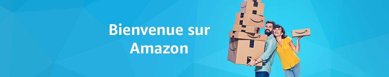 Bienvenue sur Amazon !
