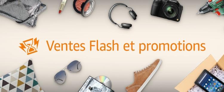 Ventes Flash et promotions