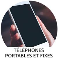 Téléphones portables et fixes
