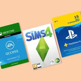 Promotion jeux vidéo