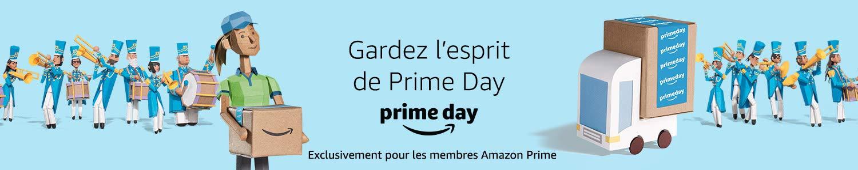 Gardez l'esprit de Prime Day