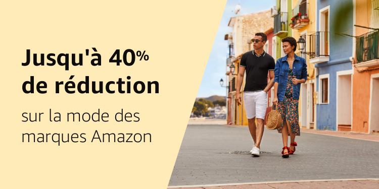 Jusqu'à 40% de réduction sur nos marques Mode