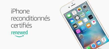 iPhone reconditionnés certifiés sur Renewed
