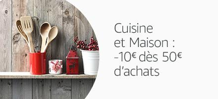 Promotion Cuisine et Maison, -10 euros des 50 euros d'achats