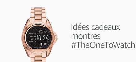 Idées cadeaux: montres #TheOneToWatch