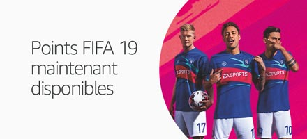 Points FIFA 19 maintenant disponibles