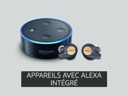 Appareils avec Alexa intégré