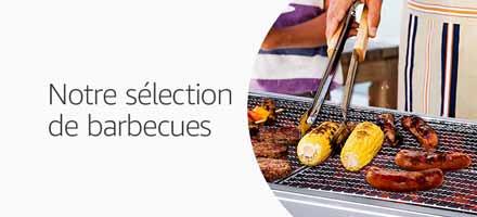 Notre sélection de barbecues