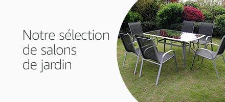 Notre sélection de salons de jardin