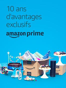 anniversaire Amazon Prime