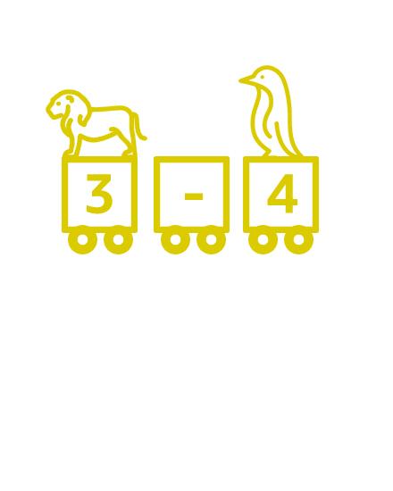 3 à 4 ans