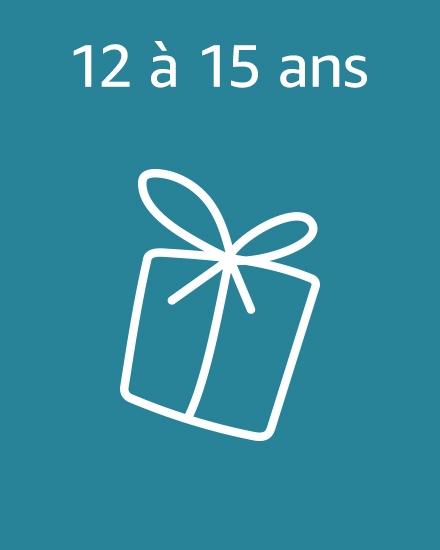 Idées cadeaux 12 à 15 ans