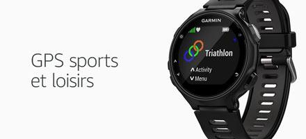 Découvrez nos GPS sports et loisirs