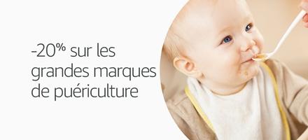 -20% sur les grandes marques de puériculture