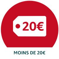Moins de 20€